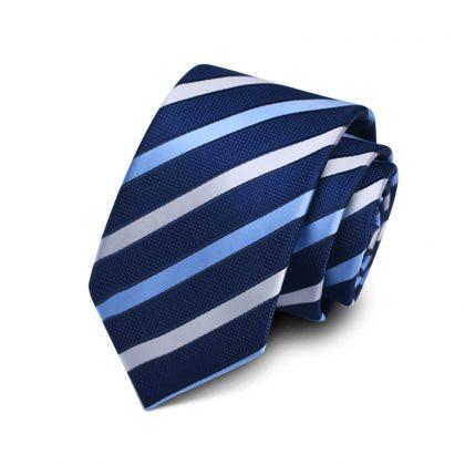 Cravata barbati bleumarin Eliot