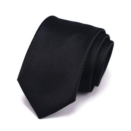 Cravata barbati neagra Berry