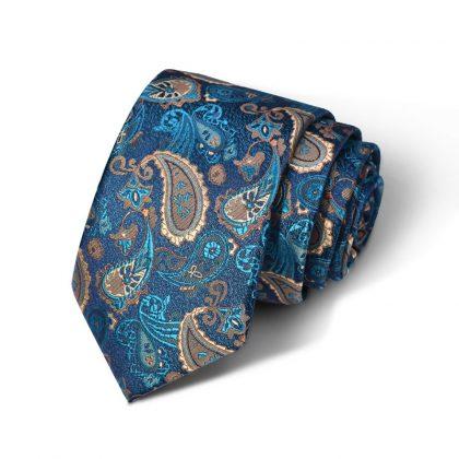 Cravata barbati turquoise Frank