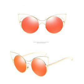 Ochelari de soare Cat Eye lentile rosii