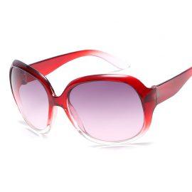 Ochelari de soare dama rame rosii