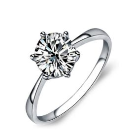Inel elegant argint 925 zirconiu