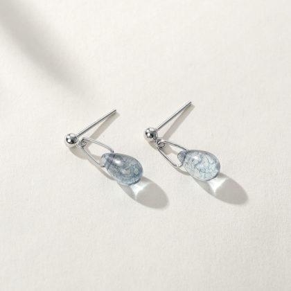 Cercei mici argint 925 cristale deosebite