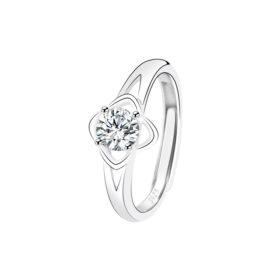 Inel floricica zirconiu argint 925