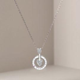 Lantisor argint 925 sageata zirconiu
