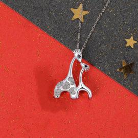Lantisor copii argint 925 pandantiv girafe