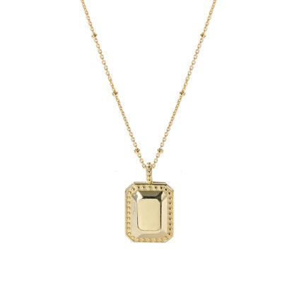 Colier elegant argint 925 placat aur