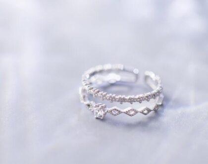 Inel elegant zirconiu argint 925 sus