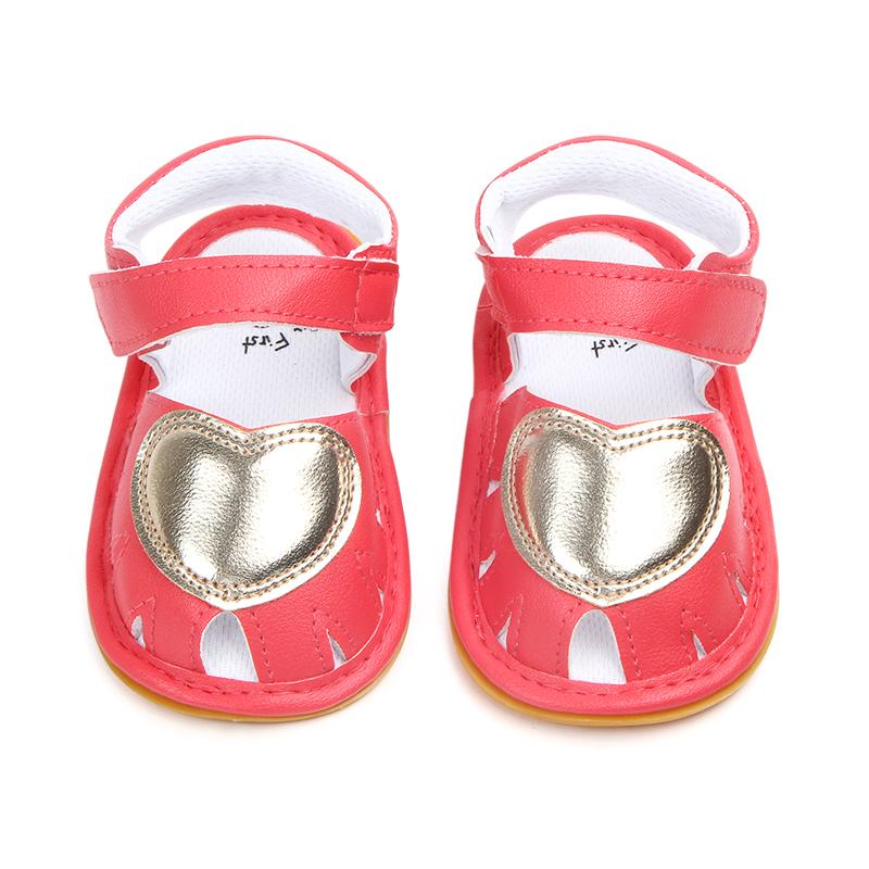 Sandale rosii inimioara