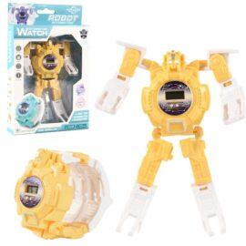 Ceas galben model robotel
