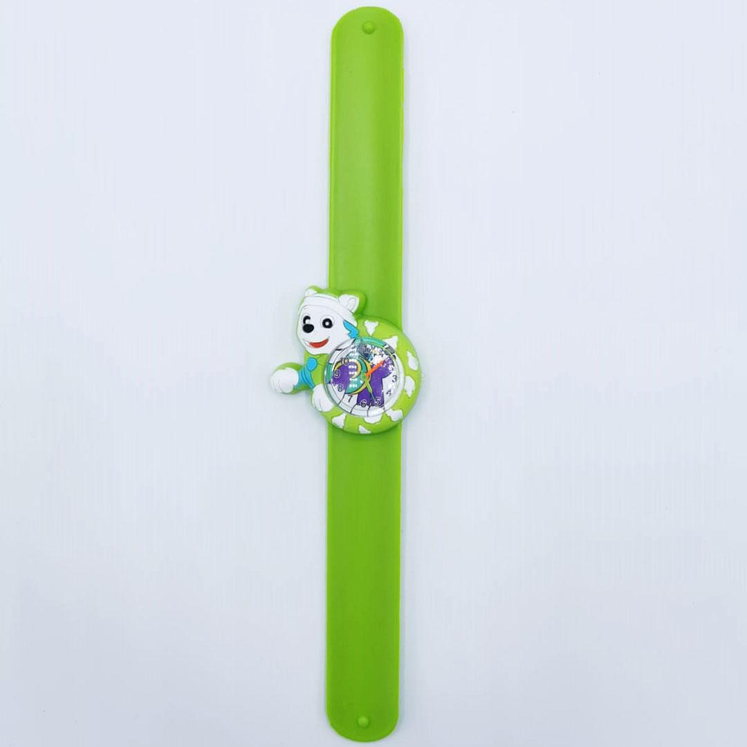 Ceas silicon verde catel