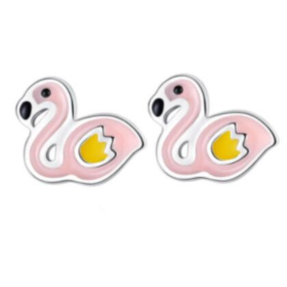 Cercei argint 925 flamingo