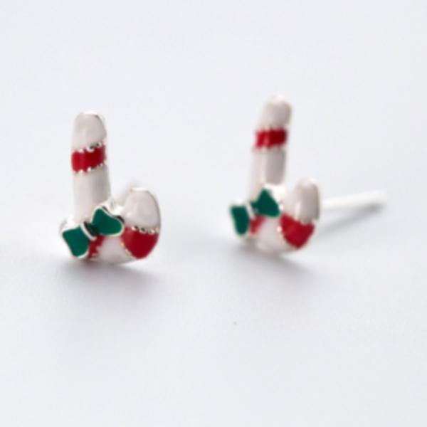 Cercei model candy argint 925