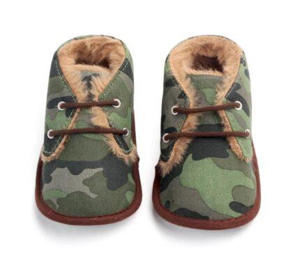 Papucei verzi baietei