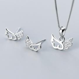 Set argint 925 fetite zirconiu