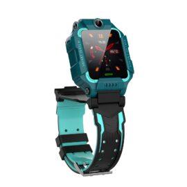 Smartwatch copii silicon verde camera dubla