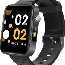 Smartwatch unisex silicon negru