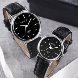 Ceasuri cuplu Yazole negru